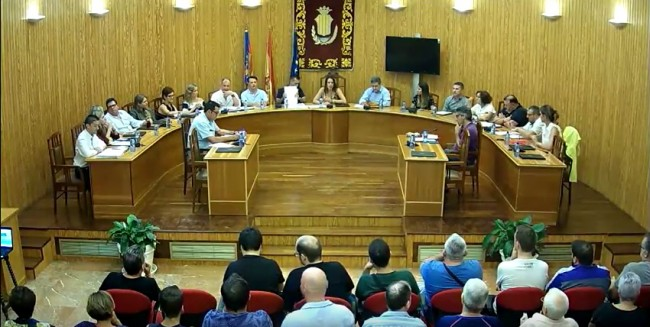 Amparo Orts pierde la confianza del pleno del Ayuntamiento de Moncada