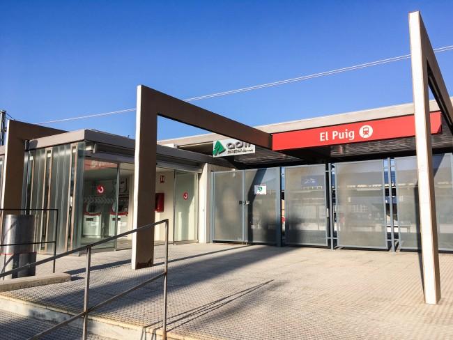 Estación de RENFE en El Puig