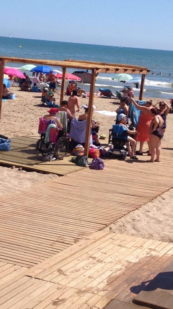 playas accesibles Alboraya