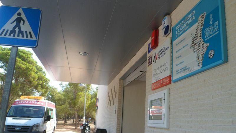 servicio de urgencias del ambulatorio de La Canyada
