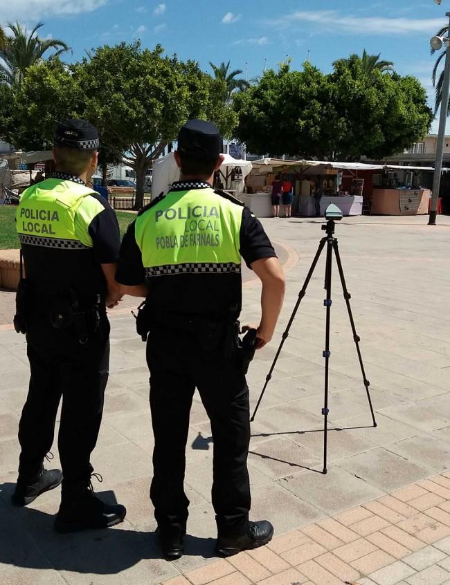 sonometria Policía Local Pobla Farnals