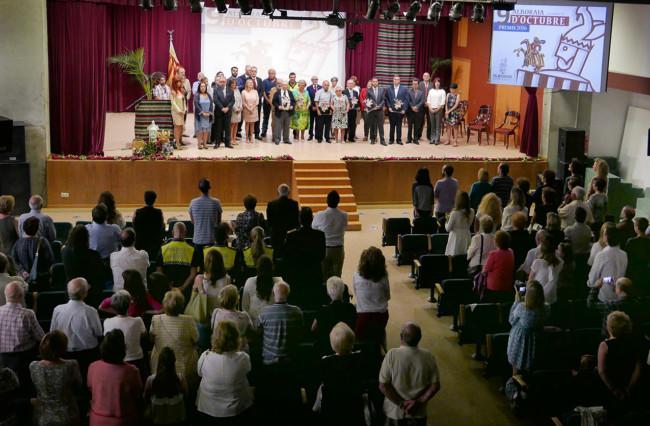 Alboraya celebra la novena edición de los Premios 9 d'Octubre