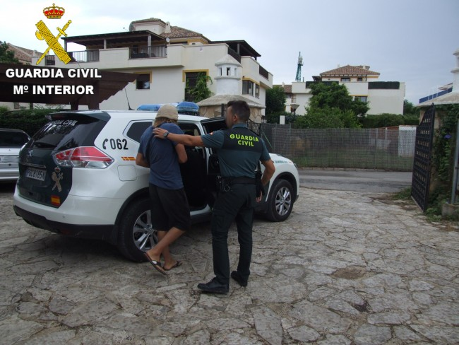 Detenido presunto acosador sexual Guardia Civil