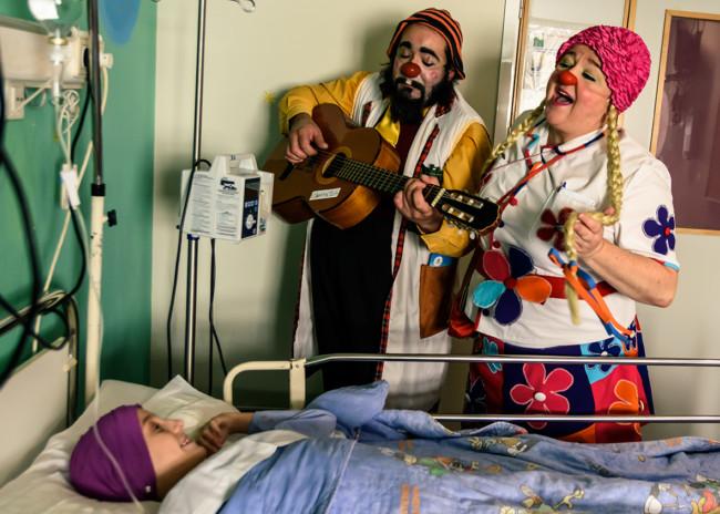Payasospital, de nuevo de gira. Foto: Juan José Todolí.