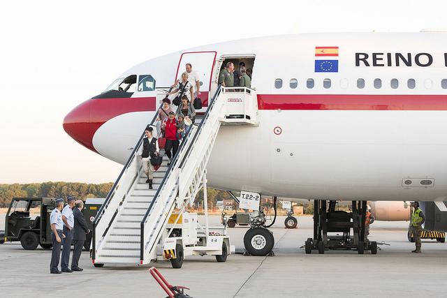 Repatriación afectados huracán Irma