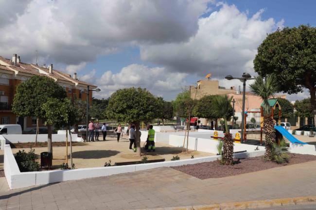 Rocafort inaugura la reforma demandada por los vecinos del Parc de les Garroferes