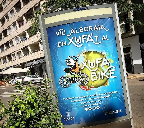 Xufabike, nuevo servicio de alquiler de bicicletas de Alboraya
