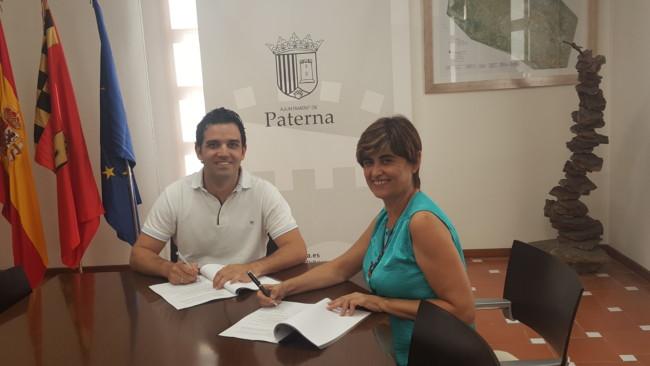 El convenio entre Ayuntamiento de Paterna y l'Andana supondrá la inversión de 20.000 euros en infraestructuras