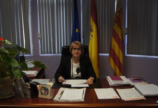 Conxa García, alcaldesa de Picassent