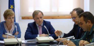 Junta de Seguridad del Puig Luisa Salvador y Juan Carlos Moragues