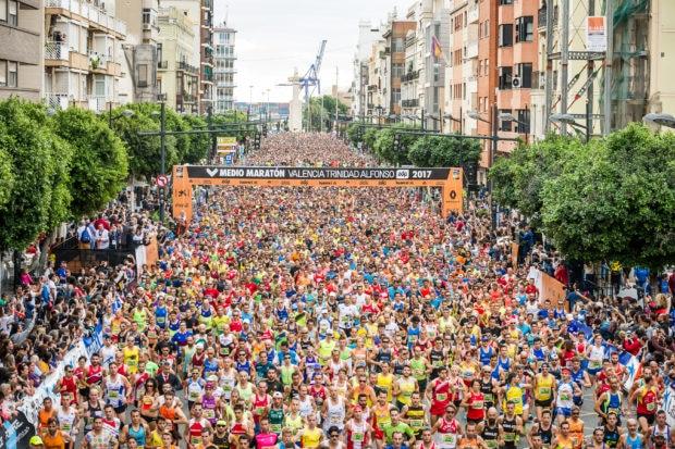 medio maratón valencia 2017