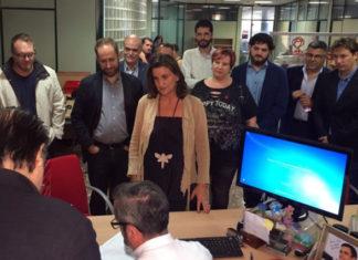 presentación de la candidatura de Mercedes Caballero a la Secretaría General del PSPV-PSOE de la provincia de València