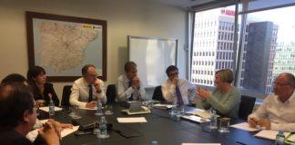 Salvador traslada a Adif y Renfe la necesidad de mejora de los servicios y de la red de Cercanías de la Comunitat