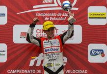 El joven vecino de Puçol Iván Ortolá ya es campeón de España de motociclismo