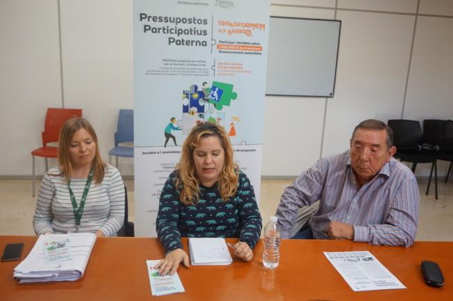 presupuestos participativos Paterna 2017