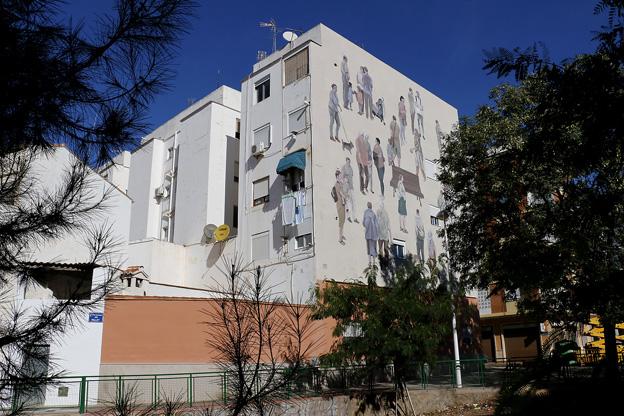 El arte urbano vuelve al barrio del Vallet de Puçol