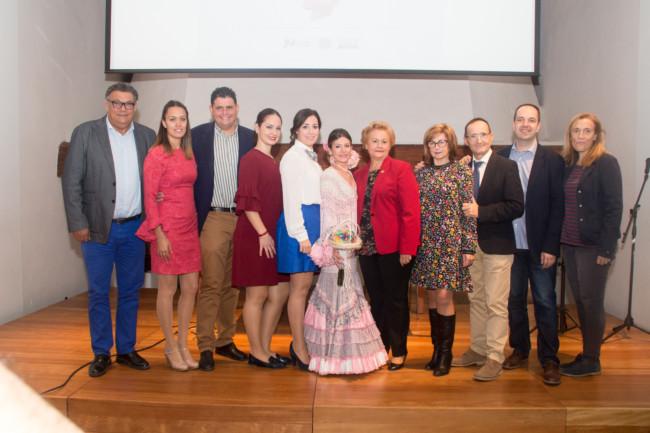 Cristina Pérez, nueva reina de la Federación de Entidades Andaluzas en la Comunidad Valenciana