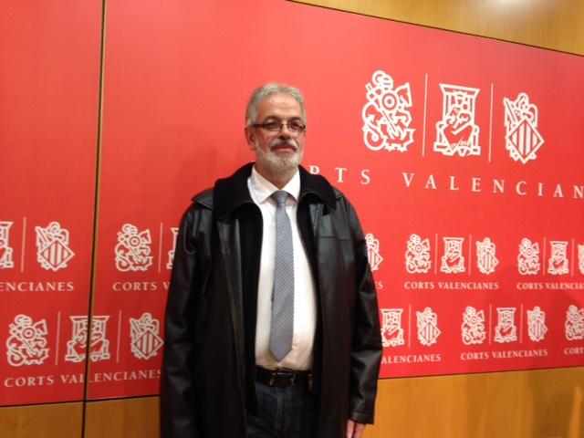Domingo Rojo, diputado Cortes Valencianas, Ex de Ciudadanos