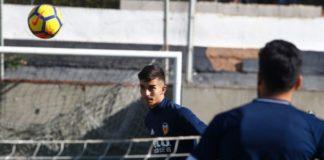 Ferran Torres completa su primer entrenamiento a las órdenes de Marcelino