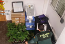 Guardia Civil marihuana Puzol