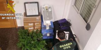 Guardia Civil marihuana Puzol