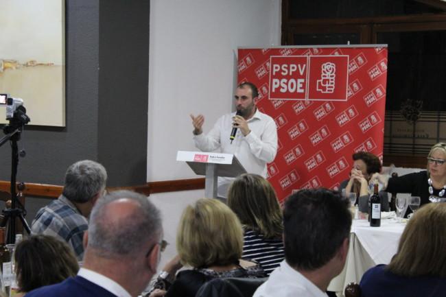Rubén Fenollar, PSPV provincia de Valencia, avales, Primarias PSPV