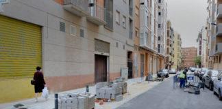 obras barrio Rei En Jaume de Alboraya