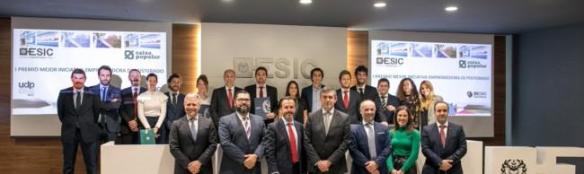ESIC celebra los I Premios a la Mejor Iniciativa Emprendedora de Postgrado