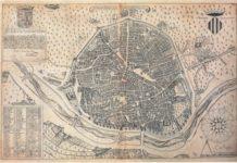 Societat Bibliogràfica Valenciana Jerònima Galés ha reeditado el conocido como Plano de Manceli (o Mancelli),