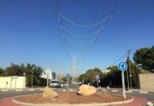 Podemos Paterna sobre los tendidos eléctricos del barrio de La Canyada