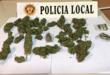 policia local Massamagrell marihuana
