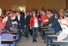 Ejecutiva PSPV provincial Mercedes Caballero