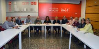 La comisión permanente de la Ejecutiva provincial del PSPV celebra su primera reunión de trabajo