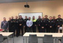 Policías de Picassent participan en un curso de pilotaje de drones del Ivaspe