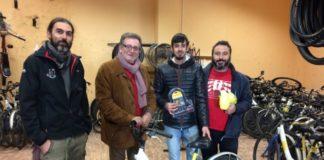 Torrent col·labora amb el projecte Bicis per a totes de Soterranya