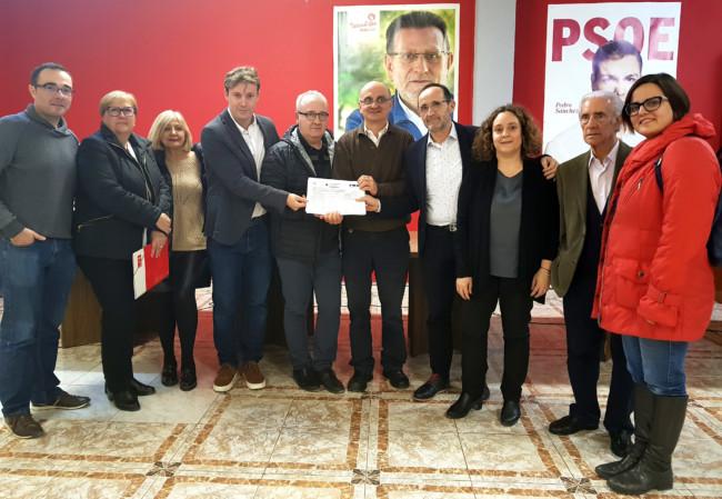 Andrés Campos presenta los avales para ser candidato a la SG PSPV Horta Sud