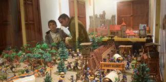 exposición de Clicks de Playmobil en Benetússer