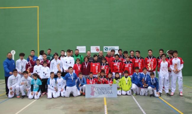 inals provincials de València dels XXXVI Jocs Esportius de la Comunitat Valenciana de frontó parelles
