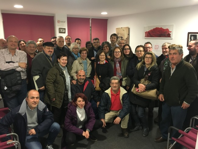 precandidato a la Secretaría General del PSPV-PSOE de l'Horta Nord, Juan Carlos Fulgencio