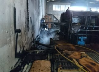 Incendio fabrica cartón Torrent