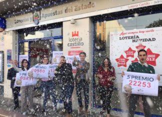 Premios dados por Lotería Castillo Sorteo Navidad