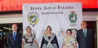 Presentació de les Falleres Majors de Massanassa