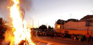 Actos populares de San Antonio en Puçol