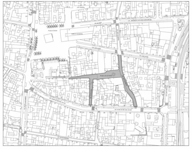 Torrent reurbanizará la plaza de las Fuentes y sus calles colindantes