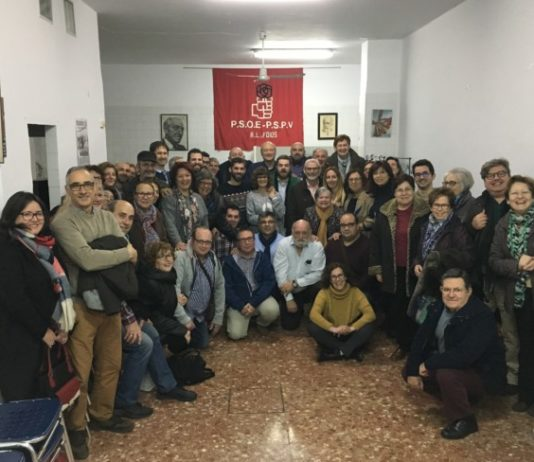 Juan Carlos Fulgencio reunión PSPV Foios