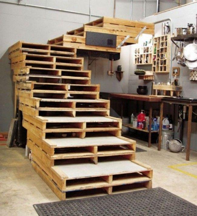 escalera de palets