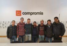 Els joves de Compromís trien a JOrdi Martínez com a nou coordinador de València i l'Horta