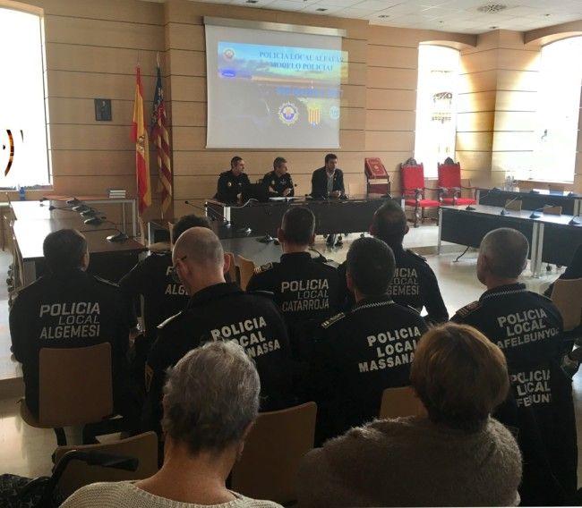 Policía Local Alfafar informe 2017