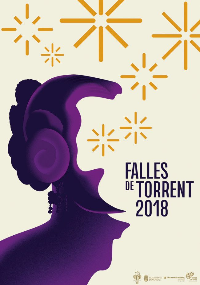 Les Falles de Torrent 2018 cartel anunciador