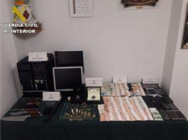 La Guardia Civil desmantela en l'Horta Sud una banda implicada en varios secuestros, torturas, lesiones, tráfico de drogas y defraudación de fluido eléctrico